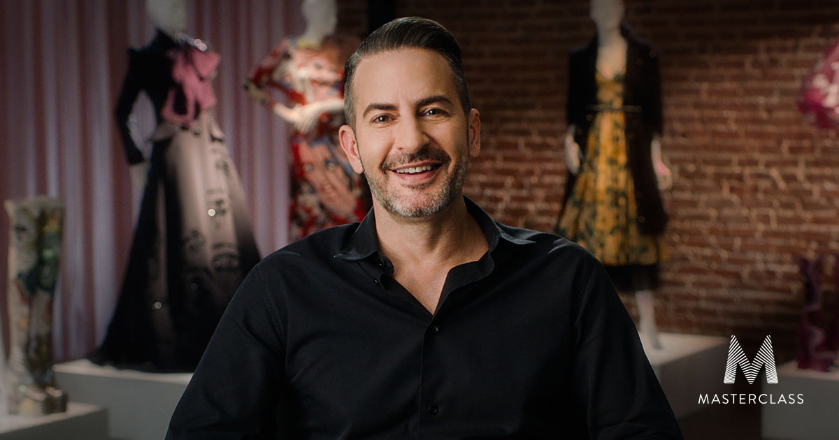 Marc Jacobs Teaches Fashion Design